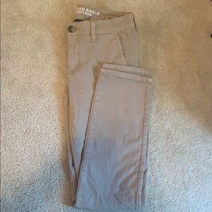 American Eagle Skinny Khaki Pants
